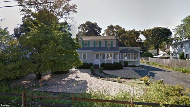 This Google Street View image shows the approximate location of 23 Eastham Lane in Brick. The property at this address changed hands in October 2019, when new owner bought the property for $290,000.
