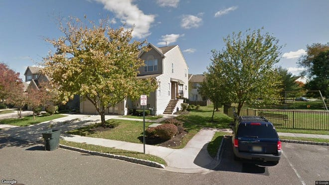 This Google Street View image shows the approximate location of 2 Larkspur Court in Delran. The property at this address changed hands in November 2019, when new owners bought the property for $220,000.