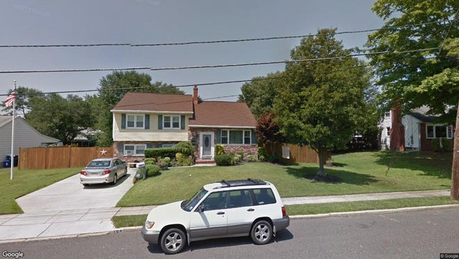 This Google Street View image shows the approximate location of 104 Farmdale Road in Eastampton. The property at this address changed hands in October 2019, when new owners bought the property for $280,000.