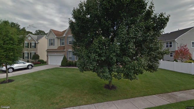 This Google Street View image shows the approximate location of 202 Stallion Court in Evesham. The property at this address changed hands in November 2019, when new owner bought the property for $399,900.