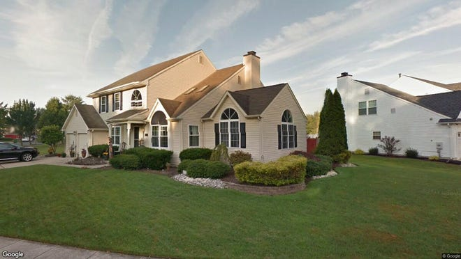 This Google Street View image shows the approximate location of 18 Buckley Lane in Evesham. The property at this address changed hands in November 2019, when new owners bought the property for $410,000.