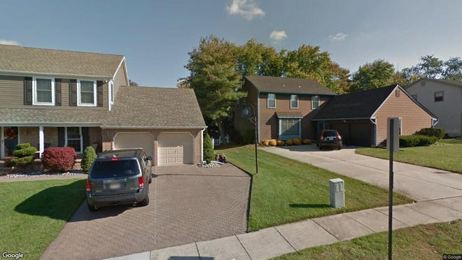 This Google Street View image shows the approximate location of 5 E. Brookline Drive in Gloucester Township. The property at this address changed hands in October 2019, when new owner bought the property for $239,900.
