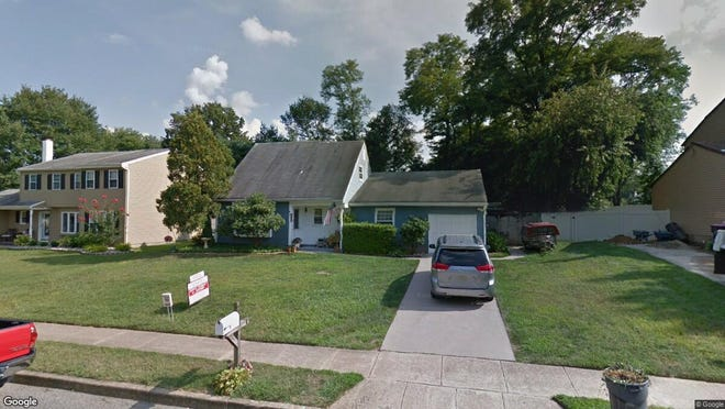 This Google Street View image shows the approximate location of 410 N. Otter Branch Drive in Gloucester Township. The property at this address changed hands in September 2019, when new owner bought the property for $160,000.