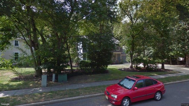 This Google Street View image shows the approximate location of 27 E. Holly Oak Drive in Voorhees. The property at this address changed hands in August 2019, when new owners bought the property for $375,000.