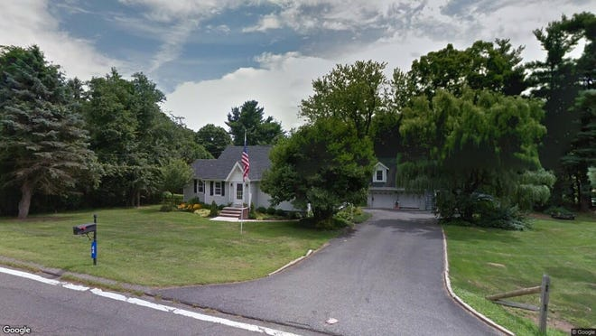 This Google Street View image shows the approximate location of 44 Berkshire Valley Road in Roxbury. The property at this address changed hands in December 2019, when new owners bought the property for $390,000.