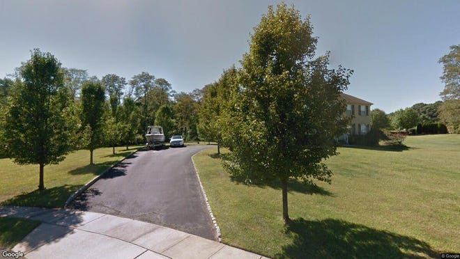 This Google Street View image shows the approximate location of 13 Nolan Drive in Millstone. The property at this address changed hands in October 2019, when new owners bought the property for $615,000.