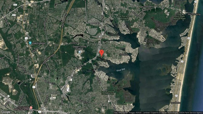 This aerial photo shows the approximate location of 1304 Lighthouse Lane in Toms River. The property at this address changed hands in December 2019, when new owners bought the property for $225,000.