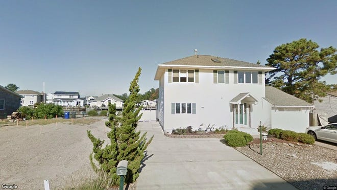 This Google Street View image shows the approximate location of 654 Bay View Drive in Toms River. The property at this address changed hands in December 2019, when new owners bought the property for $598,000.