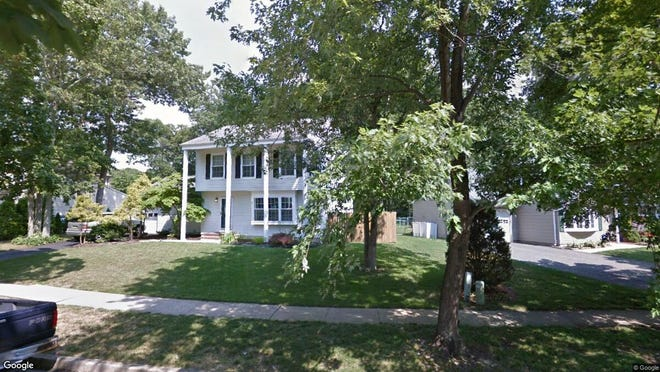 This Google Street View image shows the approximate location of 546 Leawood Ave. in Toms River. The property at this address changed hands in December 2019, when new owners bought the property for $295,000.