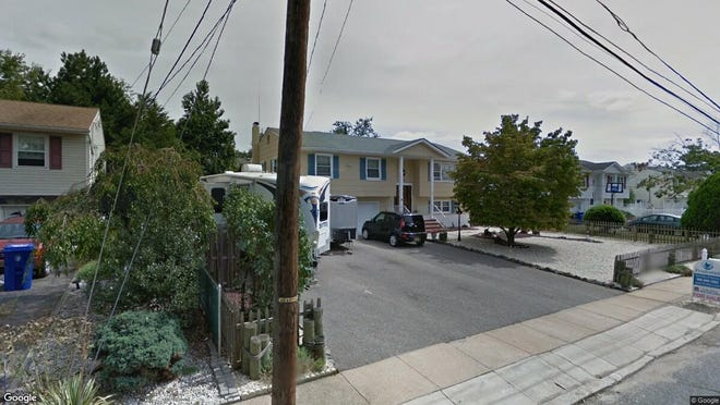 This Google Street View image shows the approximate location of 1116 Sierra Drive in Toms River. The property at this address changed hands in October 2019, when new owners bought the property for $317,000.