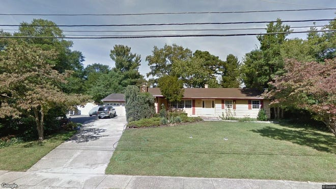 This Google Street View image shows the approximate location of 1187 Morristown Drive in Toms River. The property at this address changed hands in December 2019, when new owners bought the property for $255,000.
