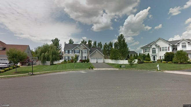 This Google Street View image shows the approximate location of 10 Churchill Court in Jackson. The property at this address changed hands in December 2019, when new owners bought the property for $480,000.