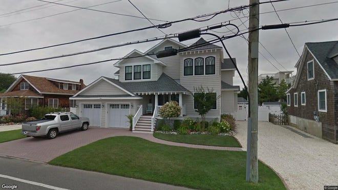 This Google Street View image shows the approximate location of 2011 Beach Ave. in Long Beach Township. The property at this address changed hands in December 2019, when new owner bought the property for $1,900,000.