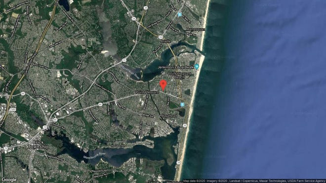 This aerial photo shows the approximate location of 909 Ocean Road Unit 5 in Point Pleasant. The property at this address changed hands in November 2019, when new owner bought the property for $234,500.