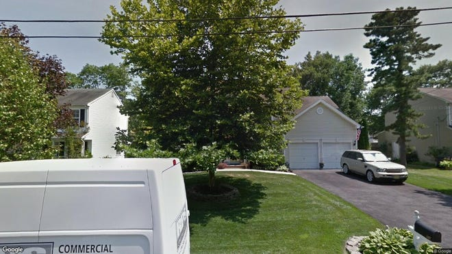 This Google Street View image shows the approximate location of 137 Gangway Lane in Stafford. The property at this address changed hands in October 2019, when new owners bought the property for $382,000.