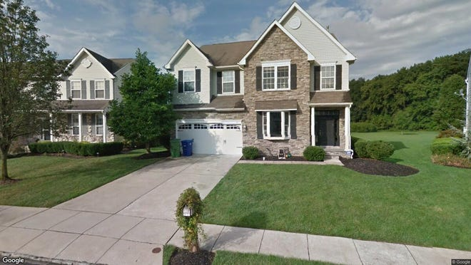 This Google Street View image shows the approximate location of 111 Quarterhorse Court in Evesham. The property at this address changed hands in November 2019, when new owners bought the property for $380,000.