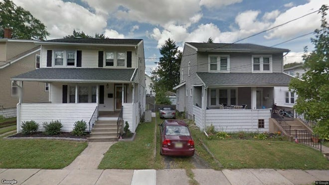 This Google Street View image shows the approximate location of 105 E. Narberth Terrace in Collingswood. The property at this address changed hands in October 2019, when new owners bought the property for $265,000.