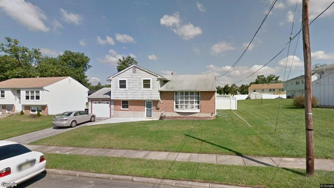 This Google Street View image shows the approximate location of 1043 Lynwood Lane in Gloucester Township. The property at this address changed hands in October 2019, when new owners bought the property for $230,000.
