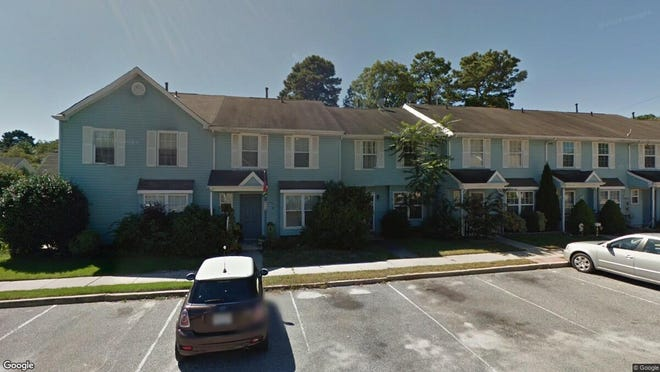This Google Street View image shows the approximate location of 52 Grant Lane in Pine Hill. The property at this address changed hands in August 2019, when new owner bought the property for $40,000.