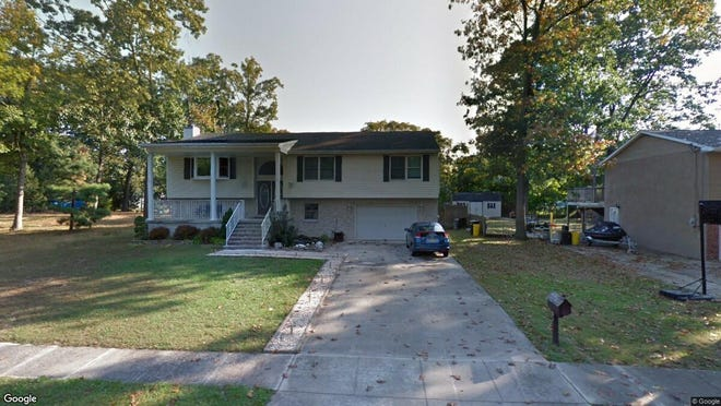 This Google Street View image shows the approximate location of 81 E. Woodburn Ave. in Pine Hill. The property at this address changed hands in July 2019, when new owners bought the property for $165,000.
