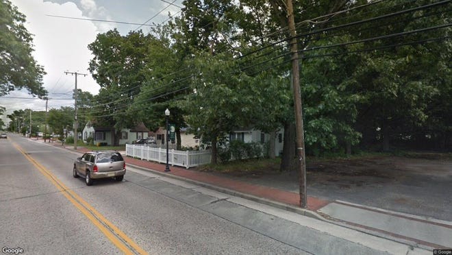 This Google Street View image shows the approximate location of 613 Erial Road in Pine Hill. The property at this address changed hands in November 2019, when new owner bought the property for $117,000.