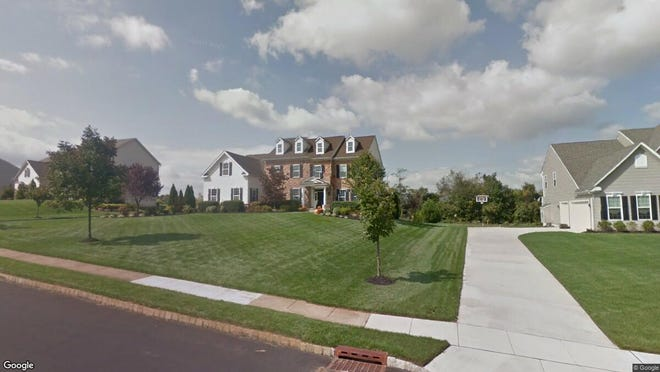 This Google Street View image shows the approximate location of 5 Nicole Court in Woolwich. The property at this address changed hands in November 2019, when new owners bought the property for $435,000.