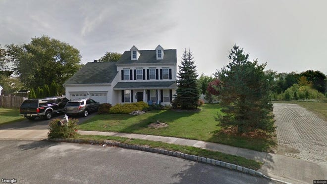 This Google Street View image shows the approximate location of 41 Woodstown Drive in Howell. The property at this address changed hands in December 2019, when new owners bought the property for $525,000.