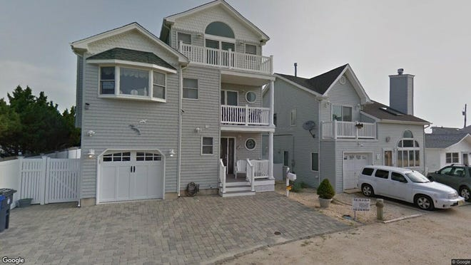 This Google Street View image shows the approximate location of 20 Holiday Road in Toms River. The property at this address changed hands in November 2019, when new owner bought the property for $690,000.