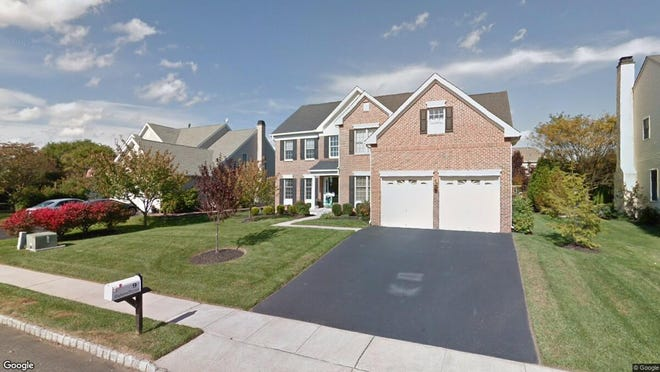 This Google Street View image shows the approximate location of 9 Gladwynne Terrace in Moorestown. The property at this address changed hands in November 2019, when new owners bought the property for $725,000.