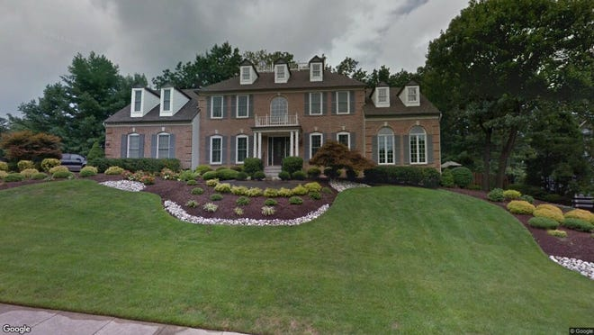 This Google Street View image shows the approximate location of 109 Bunning Drive in Voorhees. The property at this address changed hands in October 2019, when new owners bought the property for $570,000.