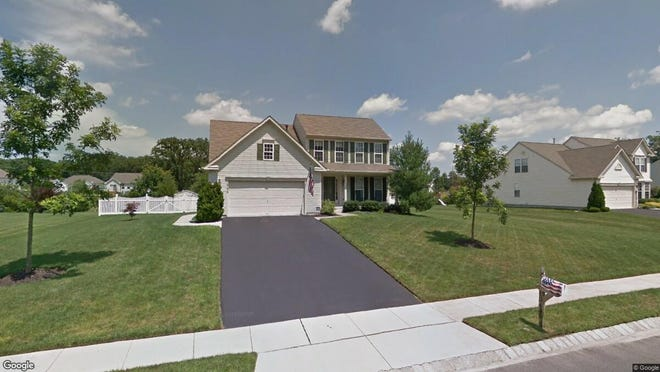 This Google Street View image shows the approximate location of 1344 Matthew Lane in Vineland. The property at this address changed hands in November 2019, when new owners bought the property for $288,000.