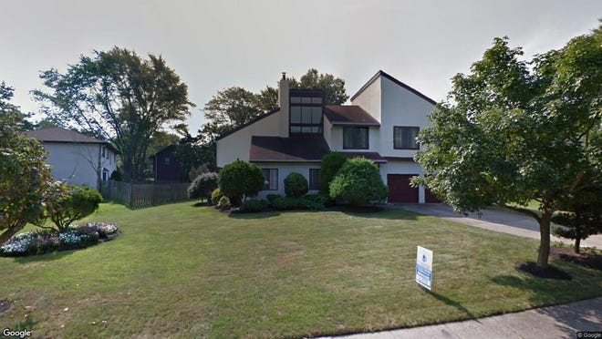 This Google Street View image shows the approximate location of 1053 Bob White Drive in Cherry Hill. The property at this address changed hands in September 2019, when new owners bought the property for $375,000.