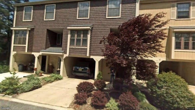 This Google Street View image shows the approximate location of 216 Kings Croft in Cherry Hill. The property at this address changed hands in October 2019, when new owner bought the property for $201,500.