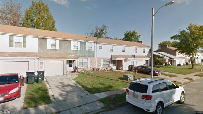 This Google Street View image shows the approximate location of 1711 Hybrid Place in Gloucester Township. The property at this address changed hands in October 2019, when new owners bought the property for $147,000.