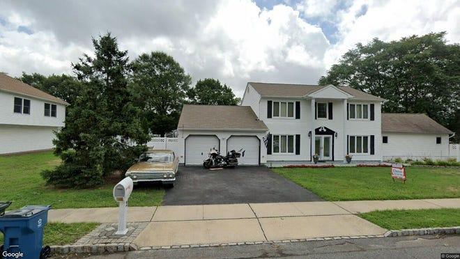 This Google Street View image shows the approximate location of 2 Buckingham Court in Hazlet. The property at this address changed hands in November 2019, when new owners bought the property for $522,400.