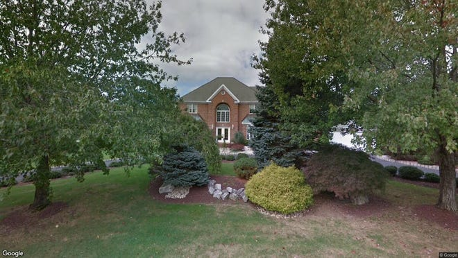 This Google Street View image shows the approximate location of 14 Burgundy Drive in Holmdel. The property at this address changed hands in December 2019, when new owners bought the property for $900,000.