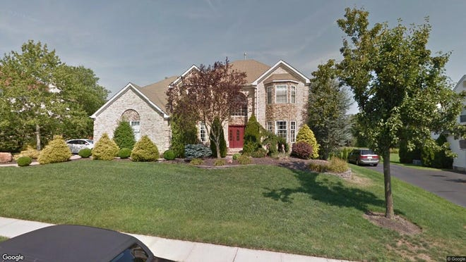 This Google Street View image shows the approximate location of 20 Maidenstone Drive in Ocean Township. The property at this address changed hands in January 2020, when new owners bought the property for $715,000.