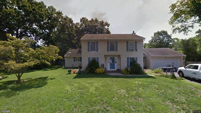 This Google Street View image shows the approximate location of 27 Harmony Lane in Brick. The property at this address changed hands in December 2019, when new owners bought the property for $499,900.