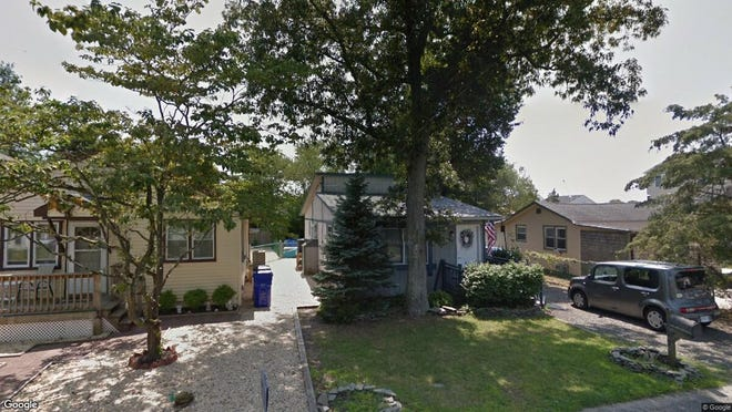 This Google Street View image shows the approximate location of 17 Adair Drive in Brick. The property at this address changed hands in January 2020, when new owners bought the property for $175,000.