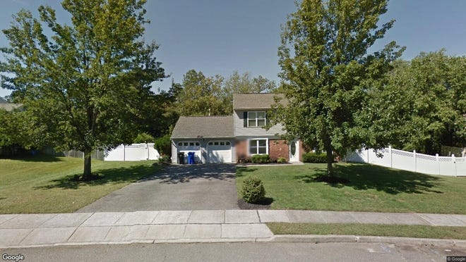 This Google Street View image shows the approximate location of 1448 Ottawa Court in Toms River. The property at this address changed hands in December 2019, when new owners bought the property for $319,900.