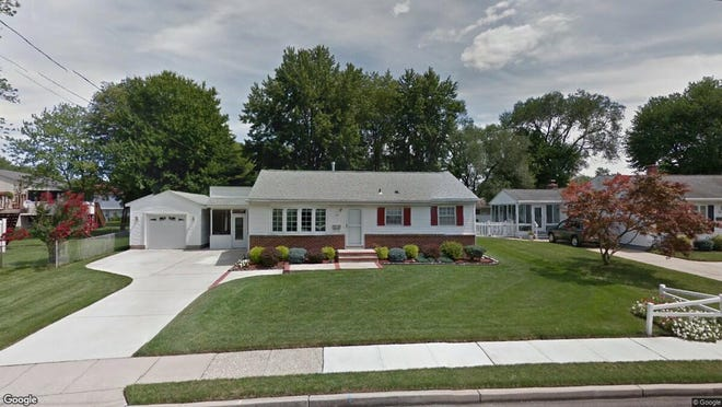 This Google Street View image shows the approximate location of 22 Gladwyn Road in Evesham. The property at this address changed hands in December 2019, when new owner bought the property for $222,000.