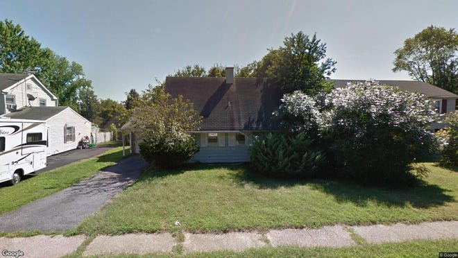 This Google Street View image shows the approximate location of 48 Belmont Lane in Willingboro. The property at this address changed hands in December 2019, when new owner bought the property for $140,000.