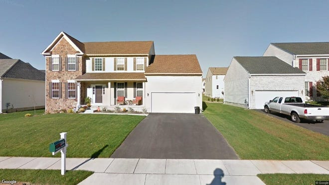 This Google Street View image shows the approximate location of 206 Peony Lane in Deptford. The property at this address changed hands in November 2019, when new owner bought the property for $322,000.