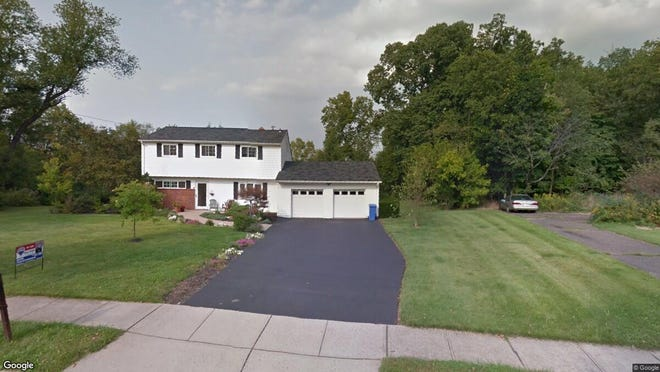 This Google Street View image shows the approximate location of 44 Meadowbrook Drive in Hillsborough. The property at this address changed hands in November 2019, when new owners bought the property for $458,000.