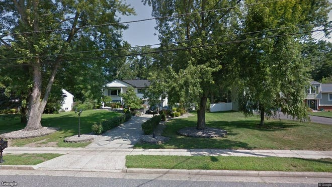 This Google Street View image shows the approximate location of 28 Eliot Road in Manalapan. The property at this address changed hands in November 2019, when new owners bought the property for $440,000.