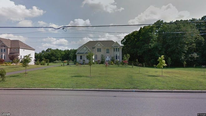 This Google Street View image shows the approximate location of 72 Lafayette Mills Road in Manalapan. The property at this address changed hands in January 2020, when new owners bought the property for $825,000.