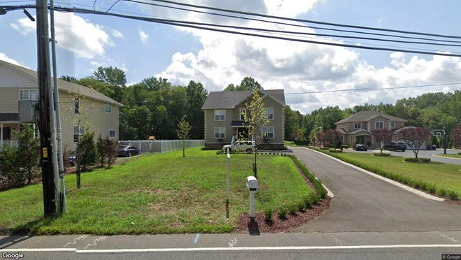 This Google Street View image shows the approximate location of 11 Gordons Corner Road in Manalapan. The property at this address changed hands in November 2019, when new owners bought the property for $580,000.