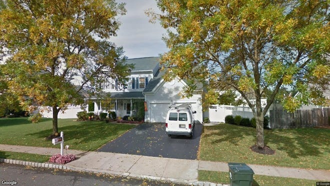 This Google Street View image shows the approximate location of 92 Evesboro Lane in Howell. The property at this address changed hands in January 2020, when new owners bought the property for $467,000.