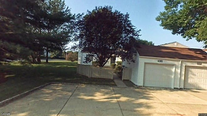 This Google Street View image shows the approximate location of 135 Greenwood Drive in Freehold Township. The property at this address changed hands in December 2019, when new owners bought the property for $280,000.