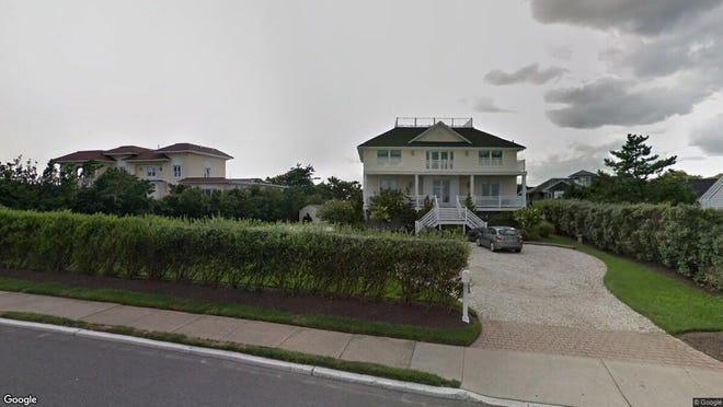 This Google Street View image shows the approximate location of 42 Ocean Ave. in Monmouth Beach. The property at this address changed hands in November 2019, when new owners bought the property for $1,550,000.